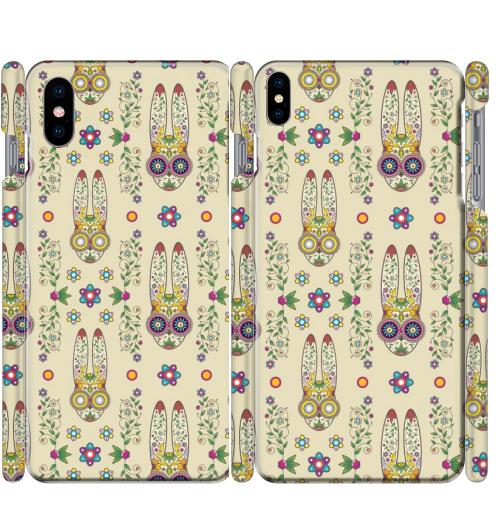 Чехол глянцевые для iPhone X День, когда вставило.,  купить в Москве – интернет-магазин Allskins, милые животные, кролики, лето, животные, latino, Мексика, лелик, заяц