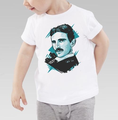 Фотография футболки Тесла