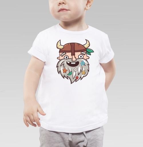Фотография футболки Довольный бородач