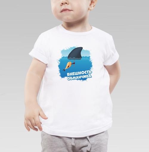 Фотография футболки Внешность обманчива
