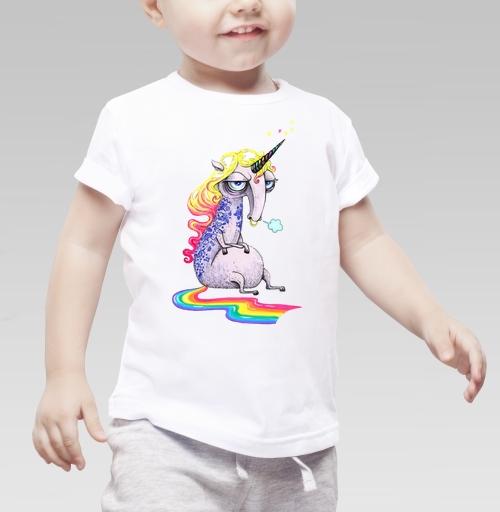 Фотография футболки Единорог в тату