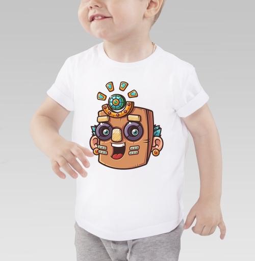 Фотография футболки Тотемная маска, вектор