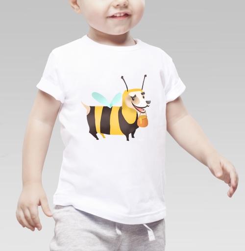 Фотография футболки Пчелопёс