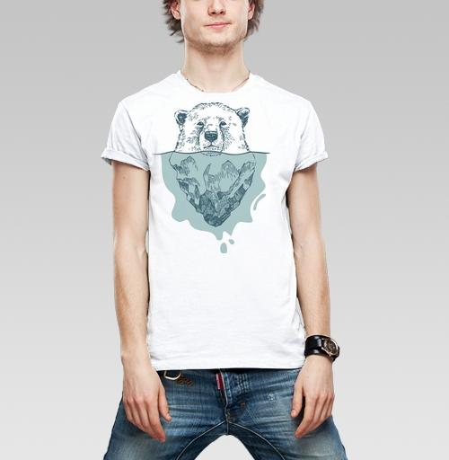 Фотография футболки Полярный медведь