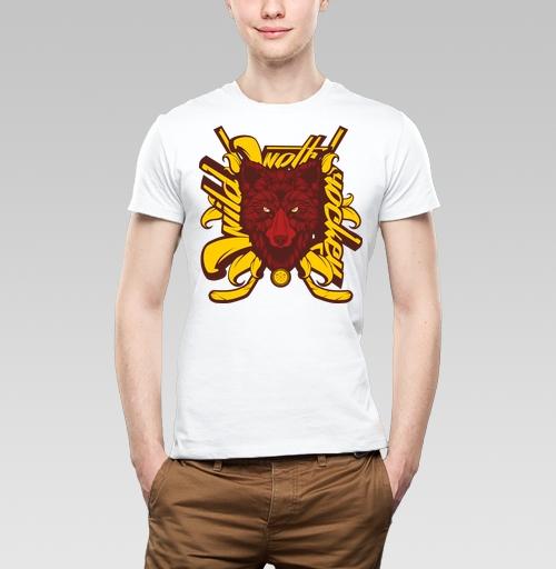Фотография футболки Дикий хоккейный волк