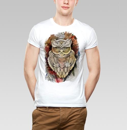Фотография футболки Doodle owl