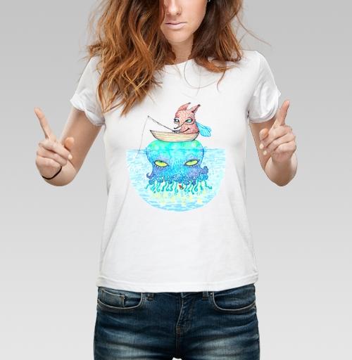 Фотография футболки Рыбалка на медузе