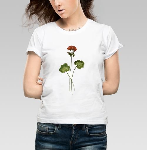 Фотография футболки Травинка Герань
