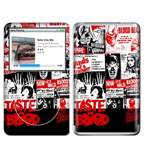 Наклейка на iPod&MP3 Apple iPod Classic Монстры–извращенцы атакуют,  купить в Москве – интернет-магазин Allskins, хэллоуин, кино, монстры, афиша, 300 Лучших работ