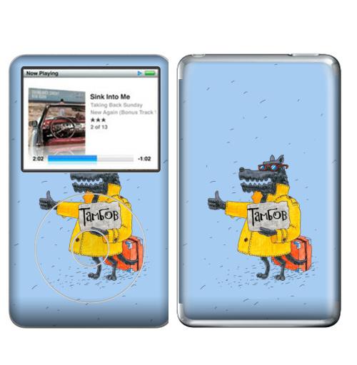 Наклейка на iPod&MP3 Apple iPod Classic Товарищ,  купить в Москве – интернет-магазин Allskins, милые животные, путешествия, прикол, животные, Тамбов, волк