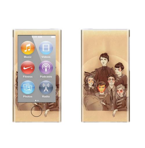 Наклейка на iPod&MP3 Apple iPod nano  7th gen. Снова в школу,  купить в Москве – интернет-магазин Allskins, школа, ретро, фотография, супермен