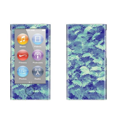 Наклейка на iPod&MP3 Apple iPod nano  7th gen. Негативные олени,  купить в Москве – интернет-магазин Allskins, олень, чувства, фотография, паттерн