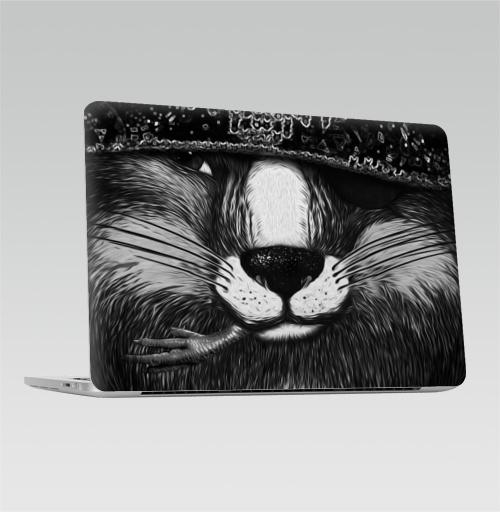 Наклейка на Ноутбук Macbook Pro 2016-2018 – Macbook Pro Touch Bar Лис бандит. это пахнет ёлкой,  купить в Москве – интернет-магазин Allskins, крутые животные, животные, зима, любовь, кровь, хитрый, bandit, лиса, милые животные