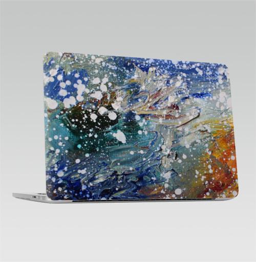 Наклейка на Ноутбук Apple Macbook Pro с Touch Bar Океан вселенной,  купить в Москве – интернет-магазин Allskins, космос, звезда, живопись
