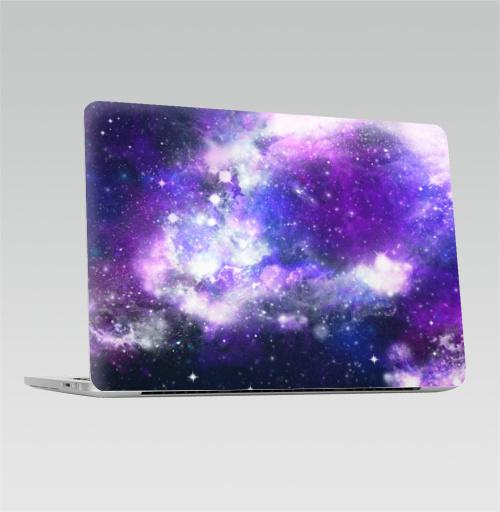 Наклейка на Ноутбук Apple Macbook Pro с Touch Bar Ты просто космос, детка,  купить в Москве – интернет-магазин Allskins, космос