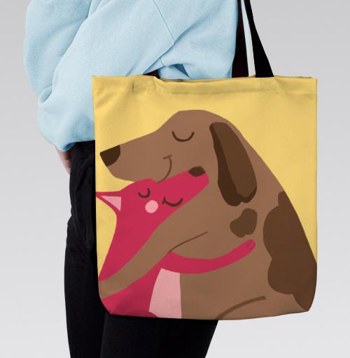 Фотография футболки Собаки-Обнимаки