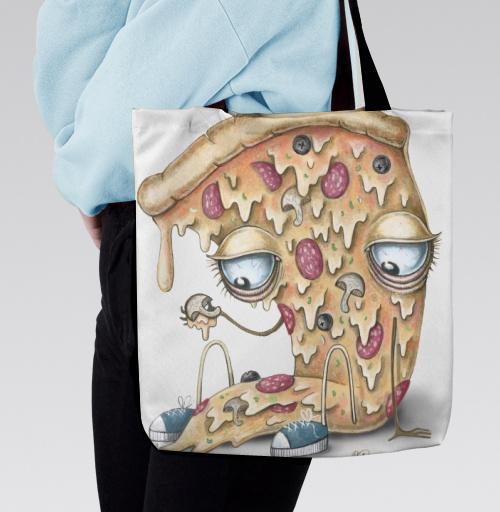 Фотография футболки Кусочек пиццы