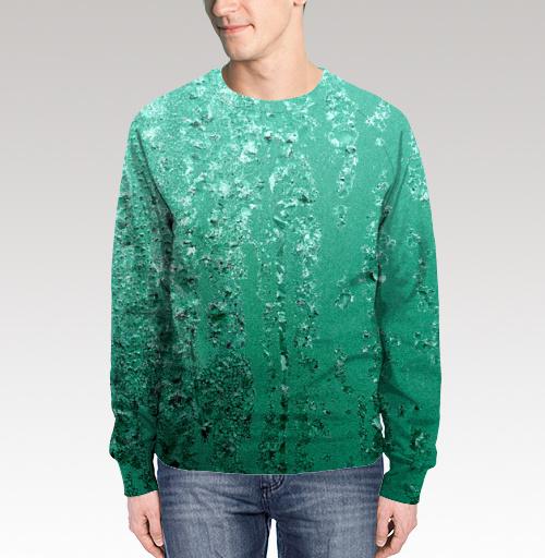 Фотография футболки Бирюзовые кристаллы