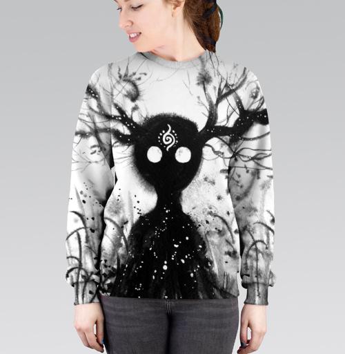 Добрый дух, Atman, Магазин футболок Atman, Cвитшот женский 3D