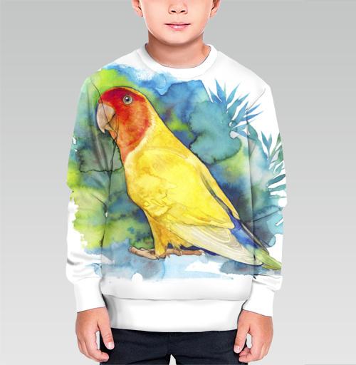 Фотография футболки Розовощекий попугайчик