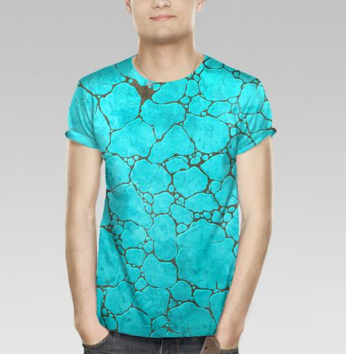 Фотография футболки Бирюза минерал