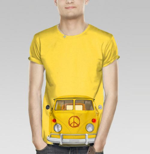 Фотография футболки Хиппи Автобус