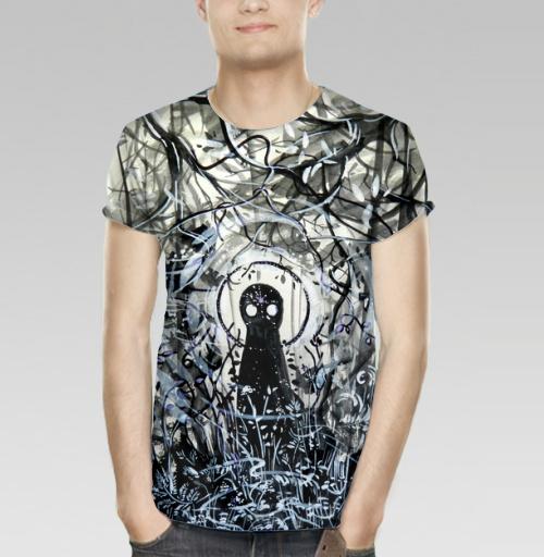 Маленький лесной дух, Atman, Магазин футболок Atman, Футболка мужская 3D