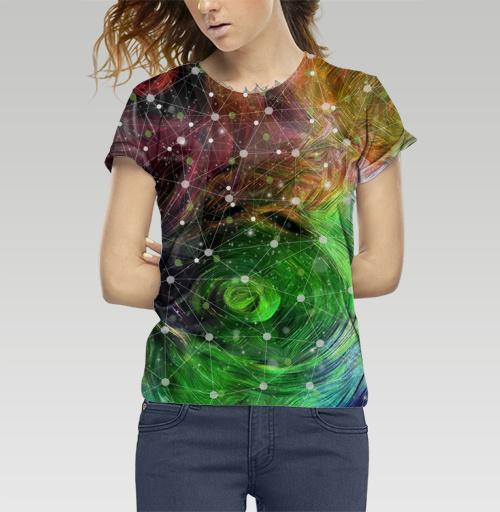 Фотография футболки Обитаемый космос. Туманность