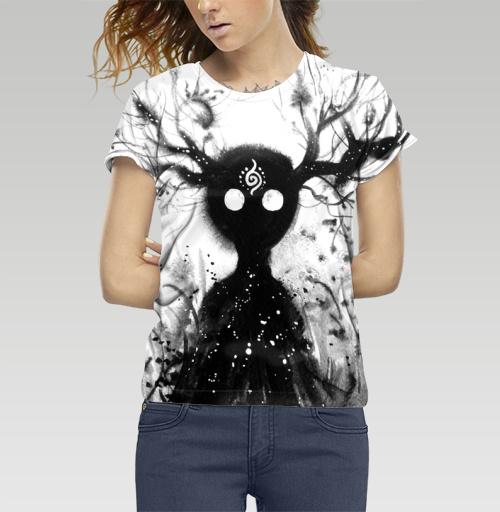 Добрый дух, Atman, Магазин футболок Atman, Футболка женская c полной запечаткой