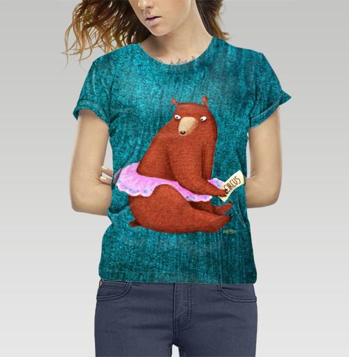 Фотография футболки Цирковая медведица