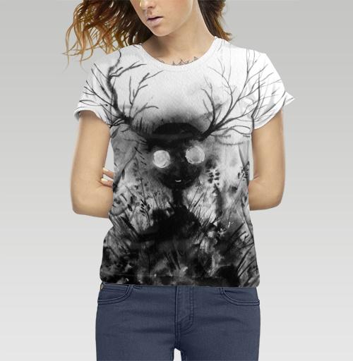 Маленький дух, Atman, Магазин футболок Atman, Футболка женская 3D