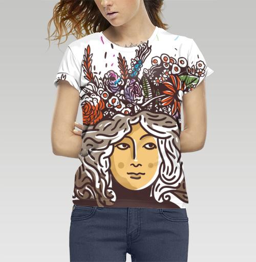 Дева Прана, Trudvoblago, Магазин футболок Trudvoblago, Футболка женская 3D