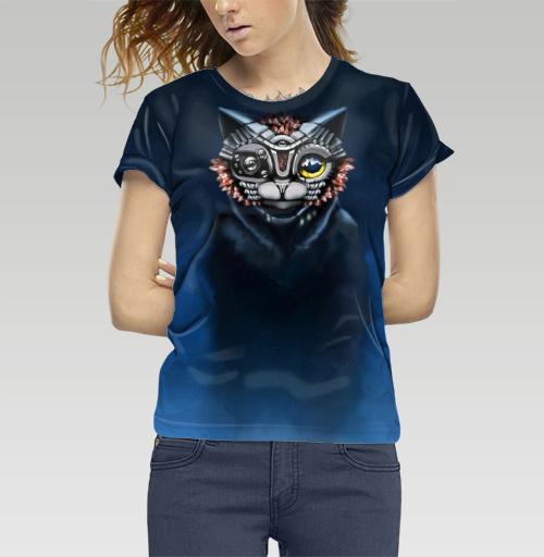 Футболка —  ALFA Кот от ALFA_Homyak | maryjane.ru - дизайнерские футболки