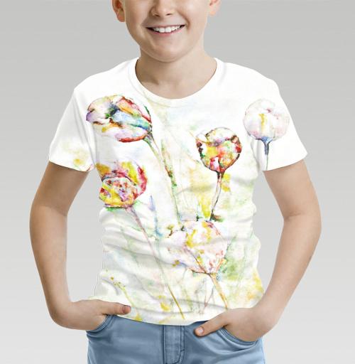 Сонет в пять строчек, n_ut_a, Магазин футболок n_ut_a, Футболка детская (полная запечатка)