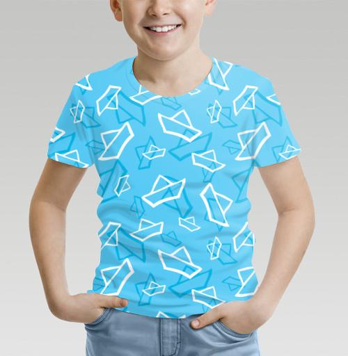 Фотография футболки Весенние кораблики