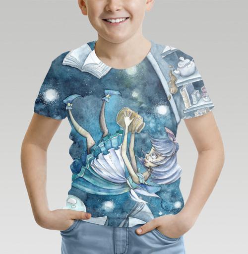 Фотография футболки Вниз по кроличьей норе