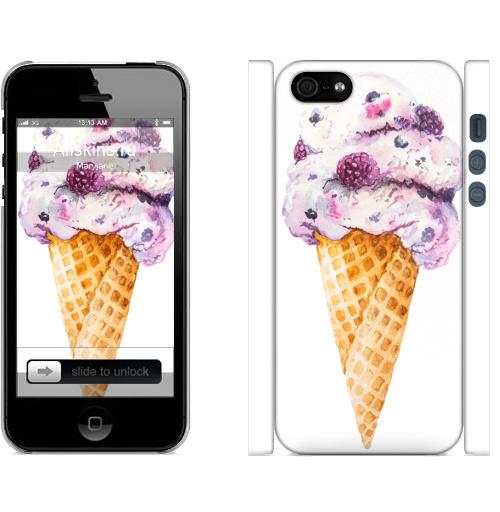 Мороженка, luckyvmv, Чехол матовый для iPhone 5, 5S, 5SE