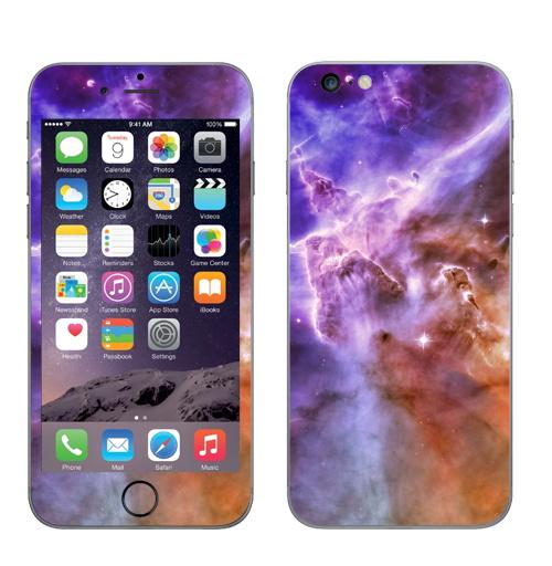 Наклейка на Телефон Apple iPhone 6 plus Хаббл,  купить в Москве – интернет-магазин Allskins, космос