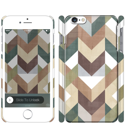 Темный шеврон, KseYa, Магазин футболок KseniaZy, Чехол матовый для iPhone 7