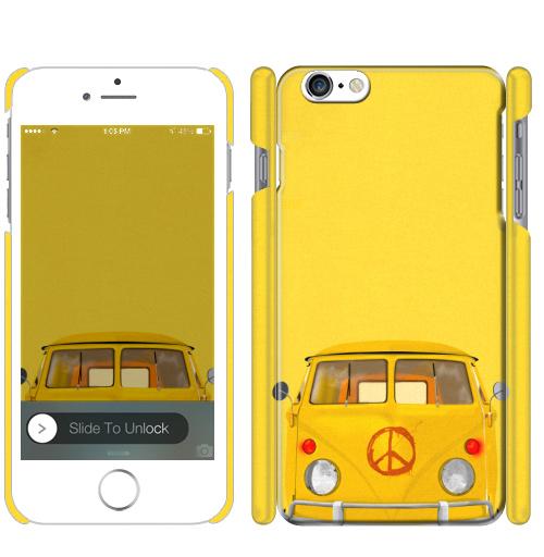 Хиппи Автобус, DariaDaTipina, Магазин футболок Daria DaTipina, Чехол матовый для iPhone 7