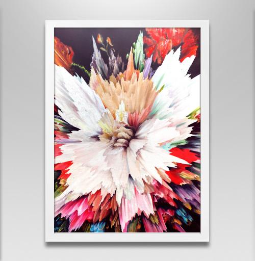 Фотография футболки Цветочный взрыв