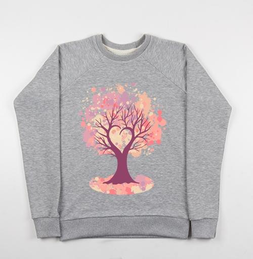 Фотография футболки Дерево-сердце