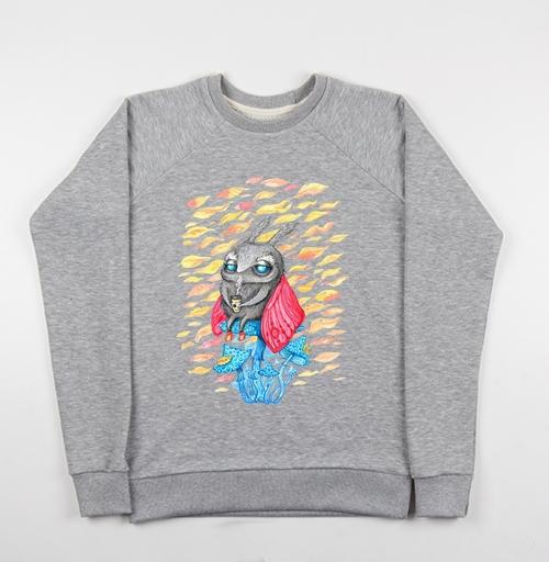 Фотография футболки Осенний мотылек