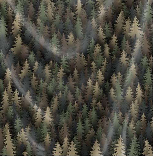 Фотография футболки Лесной камуфляж