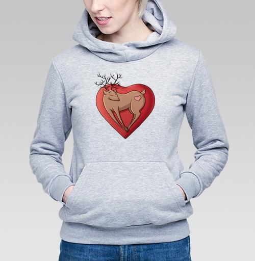 Фотография футболки Олень любви