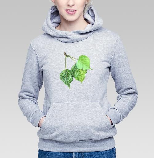 Фотография футболки Листья тополя