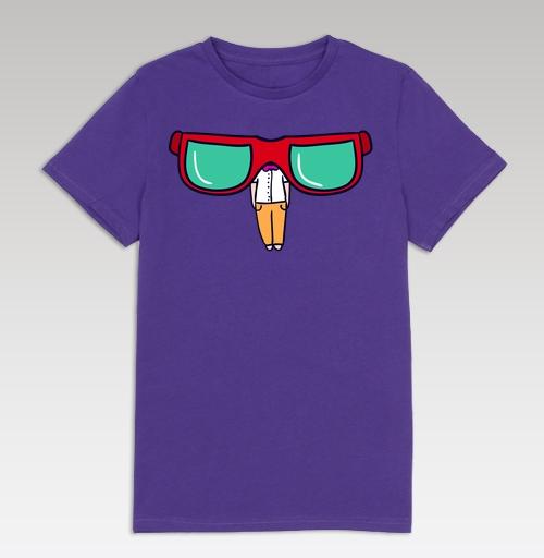 3f49778c1d54 Детская футболка с рисунком Хипстер и очки - купить в интернет-магазине  МэриДжейн в Москве и СПБ